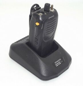 Kenwood Tk 3160 Uhf Fm Transceiver W Battery Charging Base As is