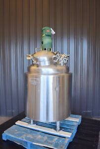66 Gallon Jacketed Mix Tank Sanitary