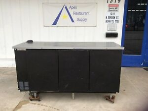 Beverage air Bb78 1 b Solid Door 78 Back Bar Refrigerator W keg Lines 2801