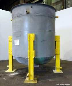 Used Tank Approximate 3 000 Gallon 304 Stainless Steel Vertical Approximate