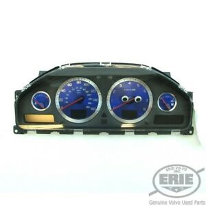 Volvo R Instrument dim speedometer 30746105 W blue Gauges 06 07 S60r V70r