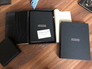 Panerai Leather Notebook Organizer