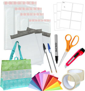 Shipping Supplies Essentials Starter Supply Kit Packaging Materials New