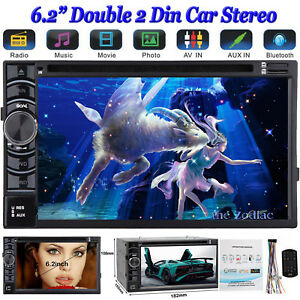 For Toyota Venza Sienna Sequoia Stereo Car Hd Dvd Cd Radio Bluetooth Touchscreen