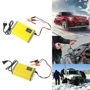 12v 6a 2a Car Motorcycle Smart Automatic Battery Charger Maintainer Trickle