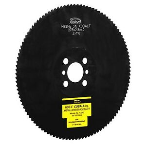 Metal Circular Saw 250 X 2 0 X 32 40 Hss e emo5 Co5 Metal Saw Blade