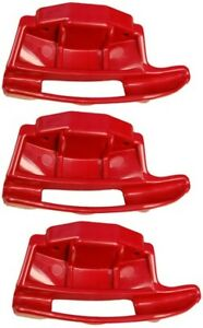 3 Pack Red Nylon Mount Demount Head For Hunter Tire Changers Rp6 0343