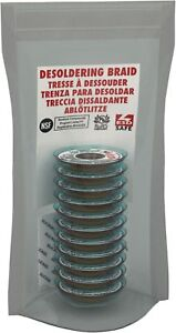 Mg Chemicals Desoldering Braid 3 No Clean Fine Braid Super Wick With Rma Flux