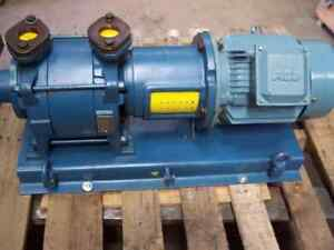 Travaini Trse 40 150 c f Plated System 7 5 hp 240 460 Motor Coupling