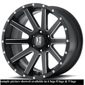 4 New 20 Wheels Rims For Gmc K 1500 K 2500 6 Lug 25142