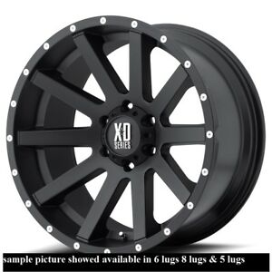 4 New 20 Wheels Rims For Isuzu Trooper 6 Lug 25143