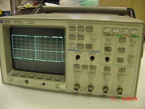 Hp Agilent 54601a Oscilloscope 4 channel 100 Mhz