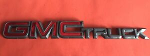 00 01 02 Gmc Truck Emblem Logo Badge Rear Oem