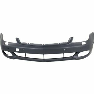 Front Bumper Cover For 2007 2011 Mercedes Benz Cls550 W Parktronic Holes Primed
