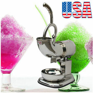 440lbs Electric Ice Shaver Machine Snow Cone Maker Crusher Shaving Cold Drink Oy