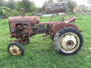 Massey Harris Pony Tractor Mh Plow Two Way Disk Orginal Wheel Weights