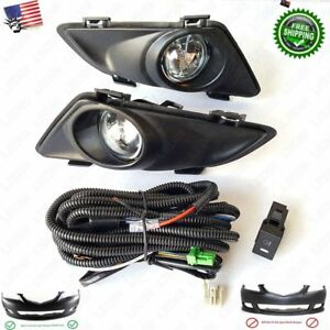 Clear Fog Driving Light With Switch Bulb Wiring Left Right For 2003 2005 Mazda 6