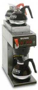 Bunn Cwtf 15 12 cup Automatic Brewer With 1 Lower 2 Upper Warmers