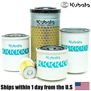 Genuine Oem Kubota B2650 B2301 B2601 B2630 Hst Filter Maintenance Kit