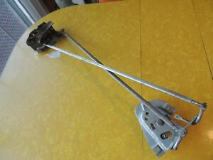 1958 Edsel Pacer Ranger 4 Dr Hard Top Front Right Door Latch pull Rods Gears