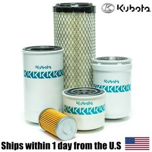 Genuine Oem Kubota L3010 L3130 L3410 L3430 Filter Maintenance Kit Hst Models