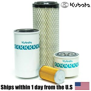 Genuine Oem Kubota L3010 L3130 L3410 L3430 Dt Gst Filter Maintenance Kit