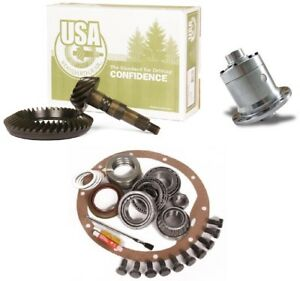 Jeep Wrangler Dana 35 Yukon Grizzly Locker 3 73 Ring And Pinion Usa Gear Pkg