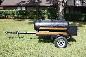 Bbq Smoker Trailer Looks Great Cooks Great Pulls Great Dallas Ft Worth Area
