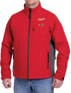 Extra large Milwaukee Cordless Red Heated Jacket 12 volt Lithium ion 8 Hour Warm