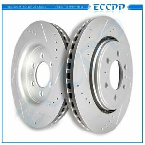 2 Front Brake Rotors For 2010 2017 F150 2007 2014 Ford Expedition Navigator