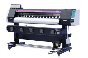 1830mm 72 Large Format Printer Eco Solvent rip wide Banner Vinyl Outdoor Xp600