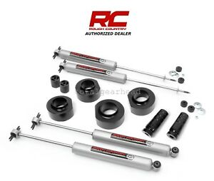 1997 2006 Jeep Tj Wrangler 4wd 1 5 Rough Country Suspension Lift Kit N3 65030
