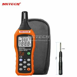 Nktech Ms6508 Lcd Digital Temperature Humidity Meter Thermometer Hygrometer