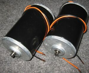 2 X 12 V Dc School Project Permanent Magnet Motor Science Electric Generator