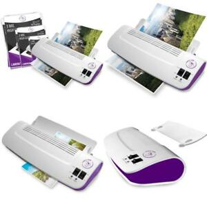 100 Pack Thermal Laminator Machine W Laminating Pouches Sheets Hot And Cold 9