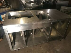 Stainless Steel Restaurant Counter Or Food Truck Equipment Stand Send Offer