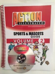 Action Illustrated Sports Mascots Volume 2 Clip Art Vector Eps