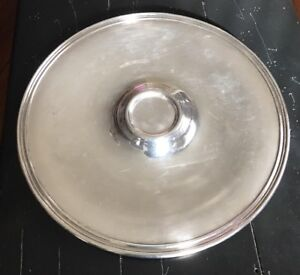 Vintage Wm Rogers 966 Silver Plate Serving Tray