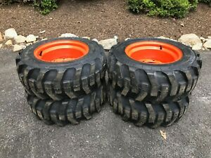 23x8 50 12 Camso Xtra Wall Skid Steer Tires wheels For Bobcat 440 453 463 s70
