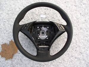 Bmw E60 E61 New Factory Leather Heated Steering Wheel Thumb Rests Carbon 05 07
