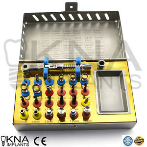 Dental Implant Universal Kit Basic Dentist Instruments Surgical Kit New Ce 25pcs
