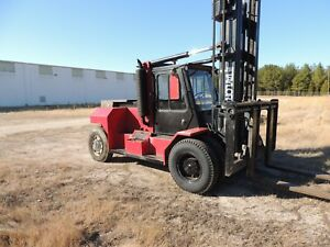 1995 Taylor Te 250m Mast Forklift