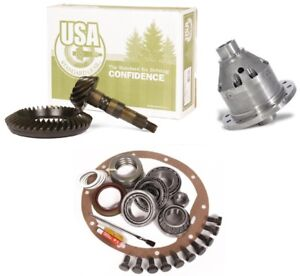 Dana 44 Front Or Rear Yukon Grizzly Locker 5 38 Ring And Pinion Usa Gear Pkg