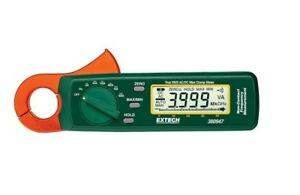 Extech True Rms Ac dc Mini Clamp Meter Model 380947 Lightly Used