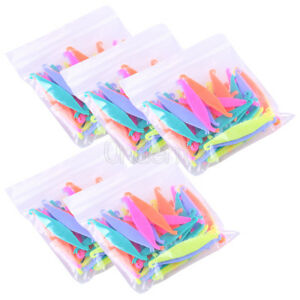 5bags Ortho Dental Plastic Elastic Rubber Band Pull Hook Opener Multi color