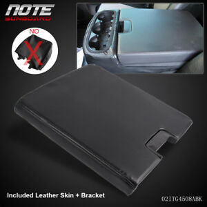 Black Center Console For 07 13 Chevy Gmc Oem Gm Part Lid Arm Rest Latch 20864154