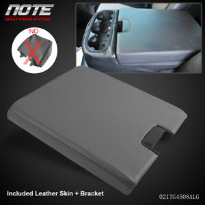 Gray Center Console For 07 13 Chevy Gmc Oem Gm Part Lid Arm Rest Latch 20864154