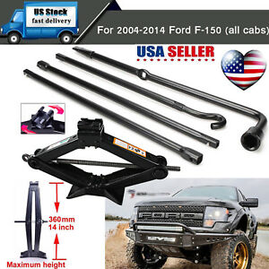 Spare Tire Tools For Ford 2004 2014 F150 Pickup Truck And Scissor Jack W Handle