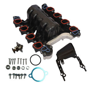 Intake Manifold W Thermostat Gaskets Kit Fit For Ford Lincoln Mercury 4 6l V8