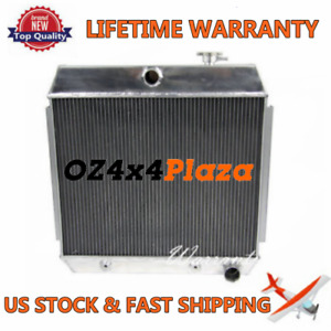3row Core Aluminum Radiator For Chevrolet Chevy Bel Air 210 150 V8 1955 1957
